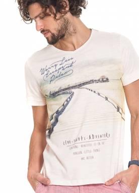 Camiseta Masc Estampada P-GG Kohmar