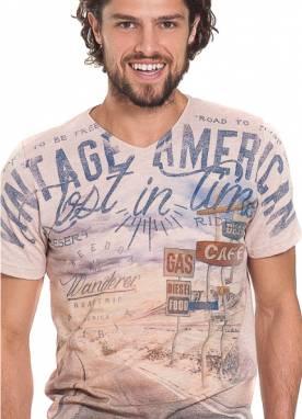 Camiseta Masc Estampada P-GG