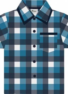 Camisa Xadrez Masculino Infantil