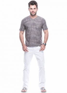 Camiseta flame c/ bolso