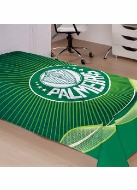 Colcha de Piquê Solteiro Palmeiras 100% Algodão