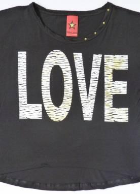 Blusa Feminina Love