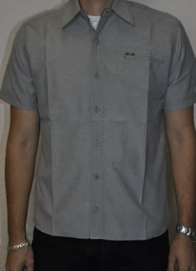 Camisa +QD+ Manga Curta Bordada Com Bolso