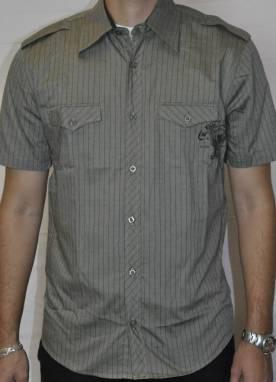 Camisa Masculina Manga Curta Brasão