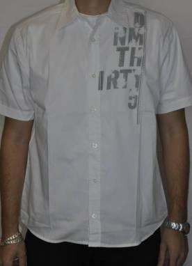 Camisa +QD+ Manga Curta Estampada Relevo