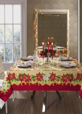 Toalha de Mesa Natal Lepper Home