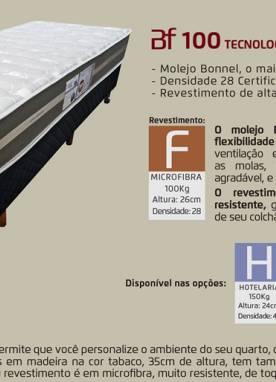 Conjunto Box Mola BF 100 138x188x24