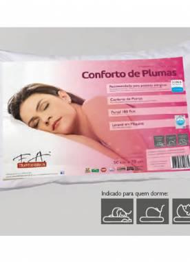Travesseiro Conforto de Plumas