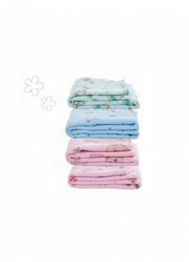 Cobertor Baby Estampado 100% Algodão