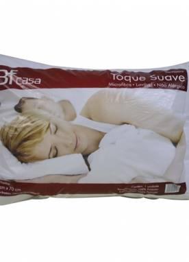 Travesseiro Toque Suave Microfibra Lavável Não Alérgico