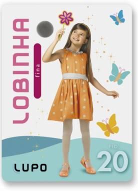 Meia-calça Infantil Lobinha Lupo 2570