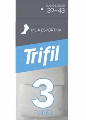 Kit/3 meia trifil 8721 39/43