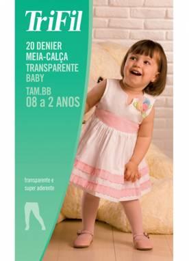Meia-calca trifil fio 20 6891 bebe
