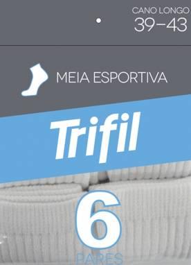 Meias Esportivas Trifil Pacote C/6