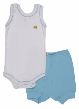Conjunto Body Regata Com Shorts