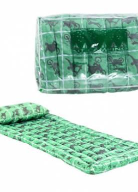 Kit Camping Colchonete + Travesseiro + Embalagem de PVC