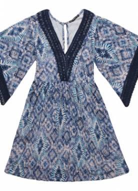 Vestido Manga Sino