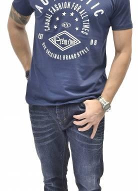 Camiseta Masculina 1510248 Estampada