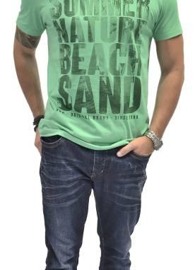 Camiseta Masculina 1510246 Estampado