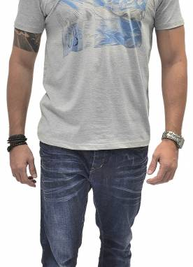 Camiseta Masculina 1510241 Estampada