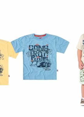 Camiseta Msculina Manga Curta