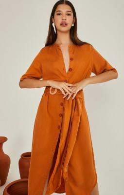 vestido amarração