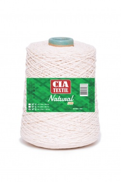 BARBANTE NATURAL 500 | CIA TEXTIL