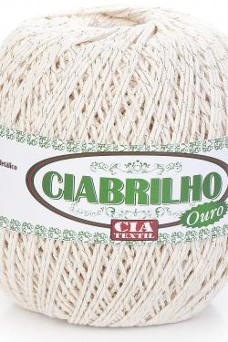 BARBANTE CIABRILHO COLORIDO OURO