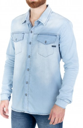 CAMISA MASCULINA JEANS