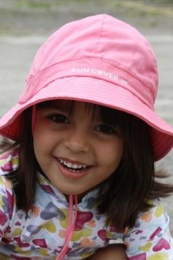 Chapéu Primavera Rosa UV SUN COVER