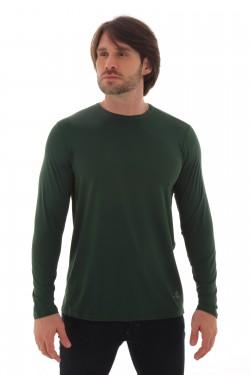 camisa com Proteção Solar Masculina vista frontal
