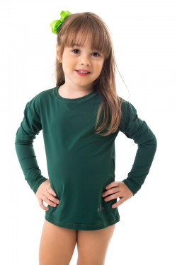blusa infantil lisa