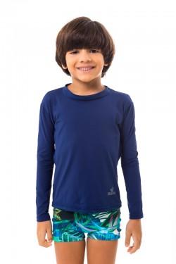 camisa infantil lisa